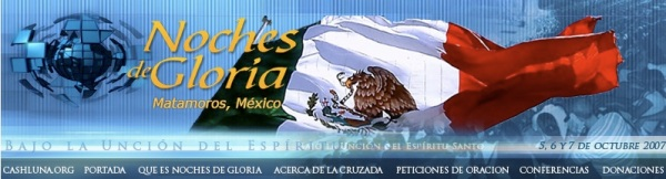 Noches de Gloria Matamoros, México. Octubre 2007