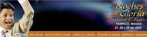 Noches de Gloria Tampico, México, Abril 2007