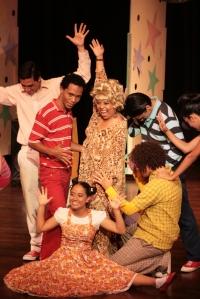 Betsy Garcia en obra Spray de Pelo